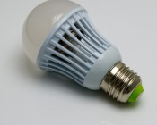 E27-A19-x4 4 watt medium base A19 type globe bulbs with Epistar MCOB (mulitple chip on board) LEDs