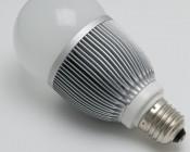 E27-W7X1-G 10 Watt Edison Base bulb with 7x1 Watt LEDs