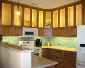 Customer Kitchen Lighting Using Our LED Strips - Thanks Lela W.