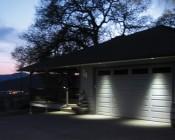 7 Watt COB LED Recessed Light Fixture w/ Multifaceted Lens: Installed on Garage