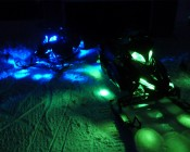Customer snowmobile with our LED modules and bars - Thanks Dave B.