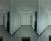 High Power LED Beacon Spot/Flood Light Fixture shown in 45° Cool White beam at 18, 24, and 36 Watts