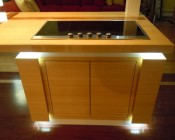 A customer's kitchen stove accented using our LB4 LED light bar - Thanks Jeff S.