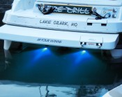 Attract fish and bait, light up your wake, and create incredible night time lighting effects above or below water.