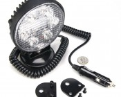 WLCP-CWHP18-R25 - Heavy Duty High Powered LED Flood Light and Included Accessories