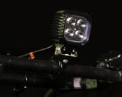 """5"""" Square 40W Heavy Duty High Powered LED Work Light on UTV"""