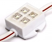 Waterproof led module string for use in sign applications