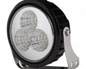 9 Watt Heavy Duty LED Auxiliary Light Kit - Round Set