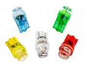 6 Volt- 1 LED Wedge Base Bulb for Pinball Machines: All Available Colors