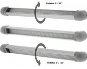 LTA-CW20: Swivel Utility Light Bar-Can Turn Up or Down 90 Degrees To Aim At Ceiling, Wall, or Floor