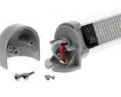 LTA-CW20: Swivel Utility Light Bar Shown with Mounting Screws