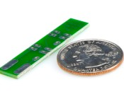 Universal 4-LED Miniature Wedge Base PCB