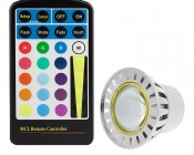 G-LUX Series RGB Remote with MR16-RGB3W-60 (sold separately)