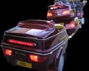 BLB-R9 LED Brake Light Bar on a Goldwing trailer