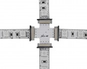 NFLS-4C4C Flexible Light Strip 4-Way Connect: Used with NFLS-RGBx2