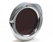 KC-25 - M4 series Chrome Bezel with Hood shown with light (not included)