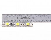 Each strip segment measures 1.97in (5cm).  Segments come as one continuous strip to the length ordered. (No power wires attached)