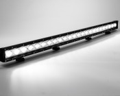 "14.5"" Heavy Duty Off Road LED Light Bar - 72W: Turned On with Ambient Light"