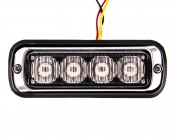 P-STRB-x4W - 4 Watt Vehicle Mini Strobe Lighthead