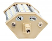 8W R7S LED Floodlight Replacement Lamp: Profile View