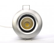 RLFA-x8W-40 - 8 Watt COB LED Recessed Light Fixture - Bridgelux COB