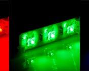 LB1-x12 Rigid LED Light Bars in Red, Green, Blue