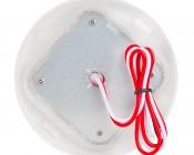 3 Watt Round Dome Light LED Fixture: Back View