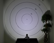 AUX-10W-SxB - 120°Light 5ft from target