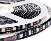 WFLS-RGB300-BK High Power RGB LED Weatherproof Flexible Light Strip - Black Circuit