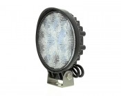 Round 27W Heavy Duty High Powered LED Work Light