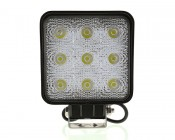 Square 27W Heavy Duty High Powered LED Work Light