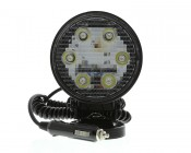 Round 18W Heavy Duty High Powered LED Spot Light with Magnetic Base