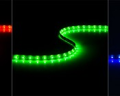 WFLS-x60 Weatherproof High Power LED Flexible Light Strip Red, Green, Blue