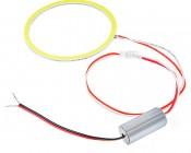 LED Angel Eye Headlight Accent Lights - COB