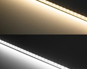 ALB series Aluminum LED Light Bar Fixture - Low Profile: Warm White vs Cool White