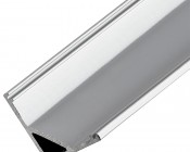 Corner Wall Wash Aluminum Profile Housing for LED Strip Lights