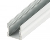 Deep Recessed Aluminum Profile Housing for LED Strip Lights - Anodized Aluminum LED Channel