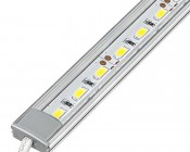 Aluminum LED Light Bar Fixture - Low Profile Surface Mount