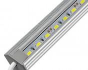 Aluminum LED Light Bar Fixture - Corner Mount