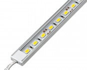 Aluminum LED Light Bar Fixture - Low Profile