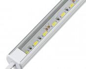 Aluminum LED Light Bar Fixture - O Shape