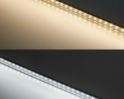 ALB series Aluminum LED Light Bar Fixture - Low Profile Surface Mount: Warm White & Cool White
