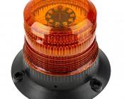 "4-3/4"" Amber LED Strobe Light Beacon with 60 LEDs - Cosmetic Blemish"