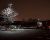 LED Parking Lot Light - 300W (700W HID Equivalent) LED Shoebox Area Light - 5000K - 32,500 Lumens