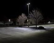 LED Parking Lot Light - 150W (320/400W MH Equivalent) LED Shoebox Area Light - 5000K/3000K - 17,000 Lumens - Refurbished