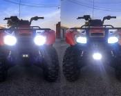 ATV LED Light: Customer Installed In Front Of ATV. Thanks Josh
