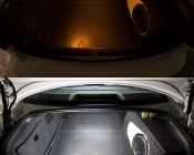 6451 LED CAN Bus Bulb - 33 SMD LED Festoon - 41mm/42mm: LED (Bottom) Shown Compared To Incandescent Bulb (Top).