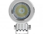 "2"" Round 10 Watt LED Mini Auxiliary Work Light: Front View"