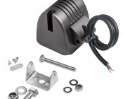 """10W Mini-Aux 2"""" Sqaure LED Work Light: All Included Mounting Accessories"""
