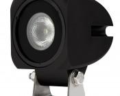 """10W Mini-Aux 2"""" Square LED Work Light"""